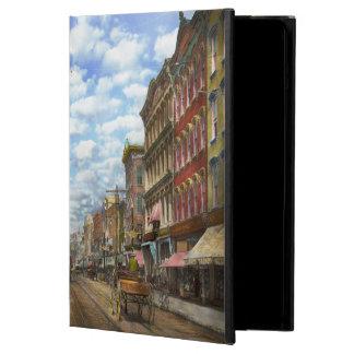 City - NY - Main Street. Poughkeepsie, NY - 1906 Cover For iPad Air