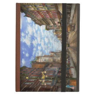 City - NY - Main Street. Poughkeepsie, NY - 1906 iPad Air Case