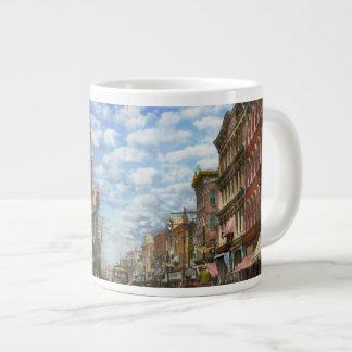 City - NY - Main Street. Poughkeepsie, NY - 1906 Large Coffee Mug