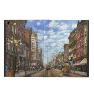 City - NY - Main Street. Poughkeepsie, NY - 1906 Powis iPad Air 2 Case