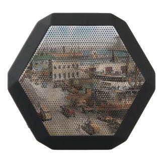 City - NY - South Street Seaport - 1901 Black Bluetooth Speaker