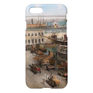 City - NY - South Street Seaport - 1901 iPhone 8/7 Case