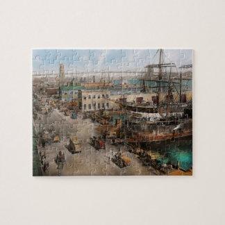 City - NY - South Street Seaport - 1901 Puzzle