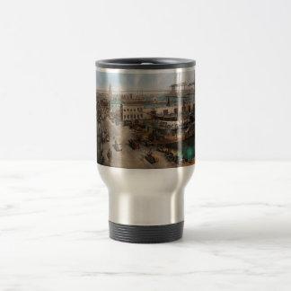 City - NY - South Street Seaport - 1901 Travel Mug