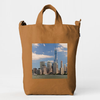 City - NY - The colors of a city Duck Bag
