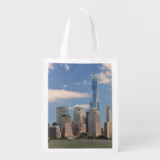 City - NY - The colors of a city Grocery Bag