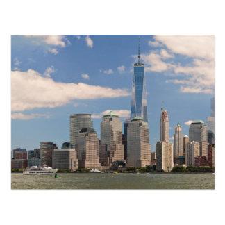 City - NY - The colors of a city Postcard