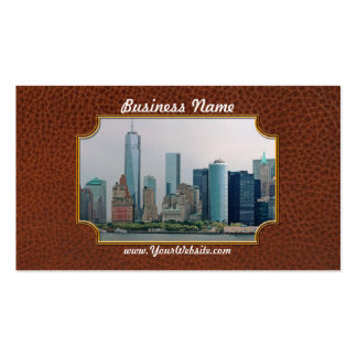 City - NY - The financial district Business Card Template