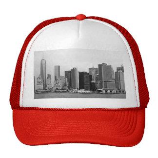 City - NY - The financial district - BW Trucker Hats