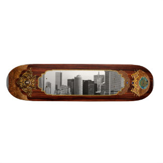 City - NY - The financial district - BW Skate Boards