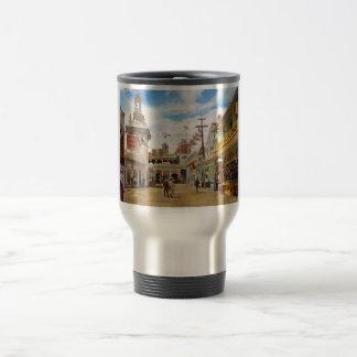 City - NY - The Great Steeplechase 1903 Travel Mug