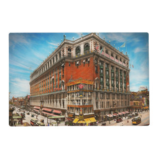City - NY - The nation's largest dept store 1908 Placemat