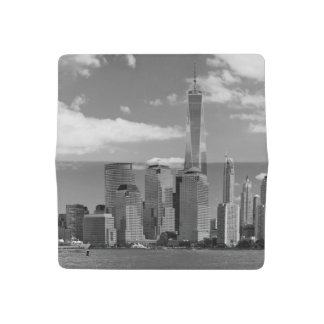 City - NY - The shades of a city Checkbook Cover