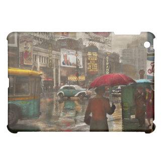 City - NY - Times Square on a rainy day 1943 iPad Mini Cases