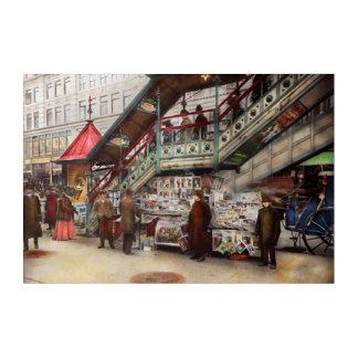 City - NY - Want a paper mister 1903 Acrylic Wall Art
