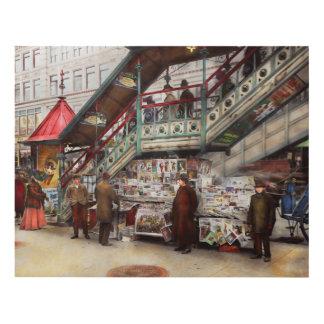 City - NY - Want a paper mister 1903 Panel Wall Art