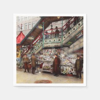 City - NY - Want a paper mister 1903 Paper Napkin
