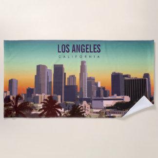 City of Angels Beach Towel