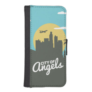 City of angels iPhone 5/5s Wallet Case