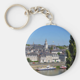 City of Angers in France Keychain
