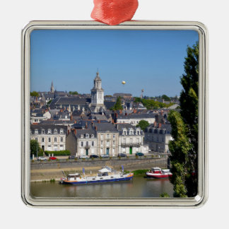 City of Angers in France Metal Ornament