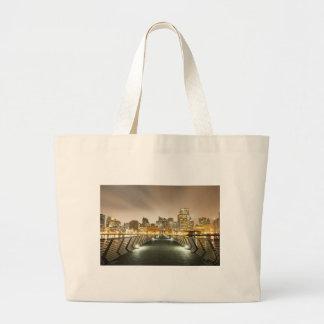 City of Angles Jumbo Tote Bag