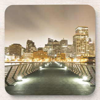 City of Angles Drink Coaster