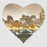 City of Angles Heart Stickers
