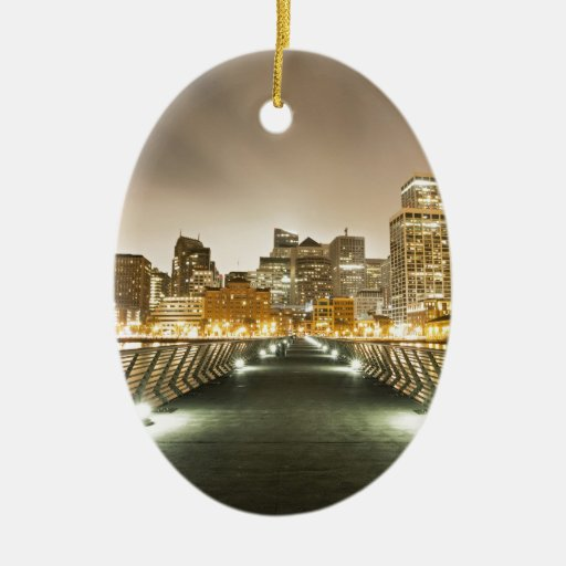 City of Angles Ornament