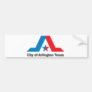 City of Arlington flag Bumper Sticker