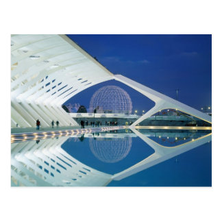 City of Arts and Sciences - Valencia, Spain Postcard