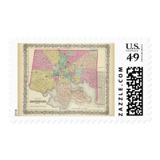 City Of Baltimore Maryland Postage