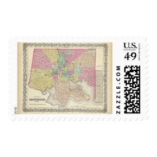 City Of Baltimore Maryland Stamp