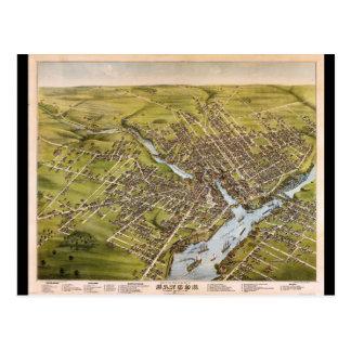 City of Bangor Penobscot County Maine (1875) Postcard