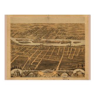City of Batavia Kane County Illinois (1869) Postcard