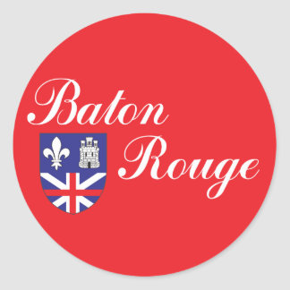 City of Baton Rouge flag Stickers