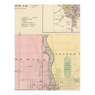 City of Beloit, Rock Co and Shullsburg Postcard
