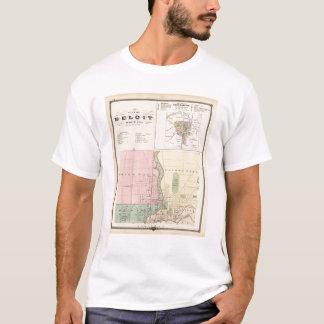 City of Beloit, Rock Co and Shullsburg T-Shirt