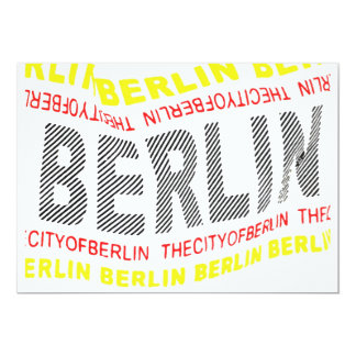 City of Berlin Logo/Memento (1) Card