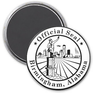 City of Birmingham Logo Magnet