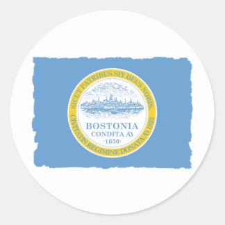City of Boston Flag Stickers