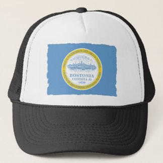 City of Boston Flag Trucker Hat