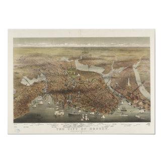 City of Boston Massachusetts 1873 Card