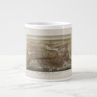 City of Boston Massachusetts 1873 20 Oz Large Ceramic Coffee Mug
