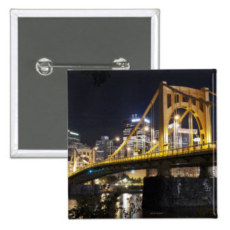 City of Bridges 2 Inch Square Button