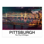 City of Bridges, Allegheny River Postcard