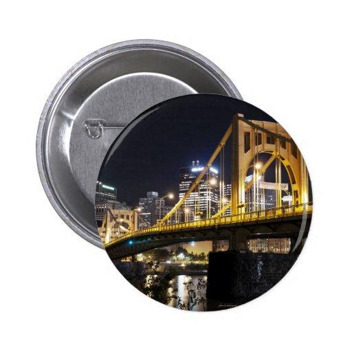 City of Bridges Buttons