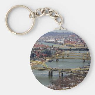 City of Bridges Keychain