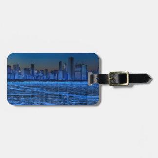 City of broad shoulders and lake Michigan Bag Tag