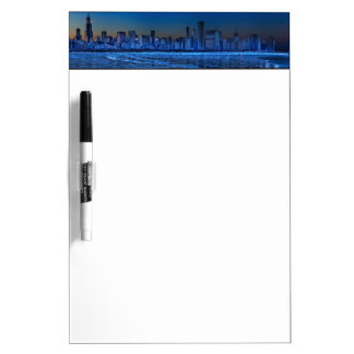 City of broad shoulders and lake Michigan Dry Erase Board